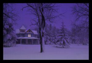B&B Winter Scene